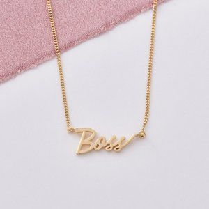 🎁 Boss Signature Necklace